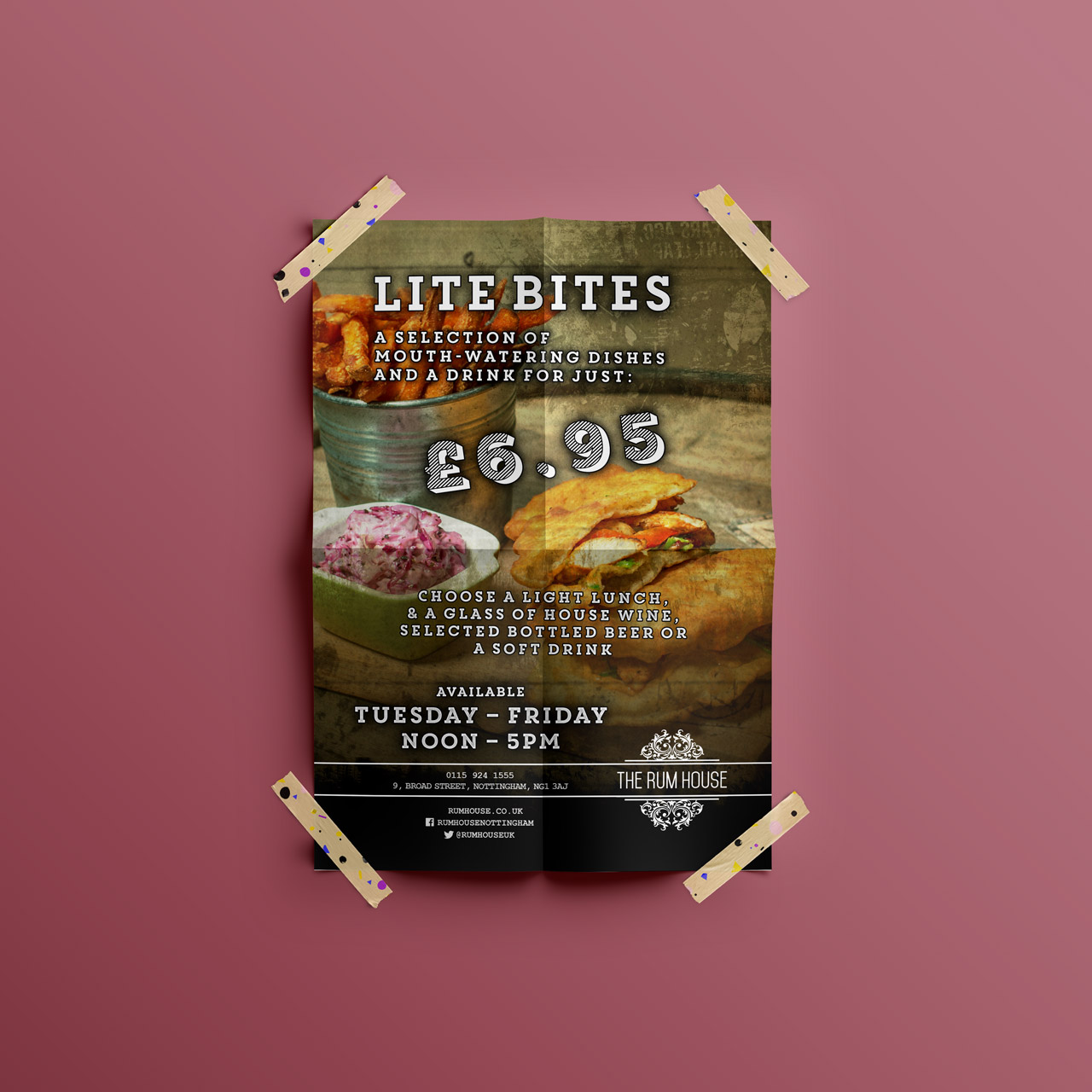 Food promotions hood digital for Food bar consult